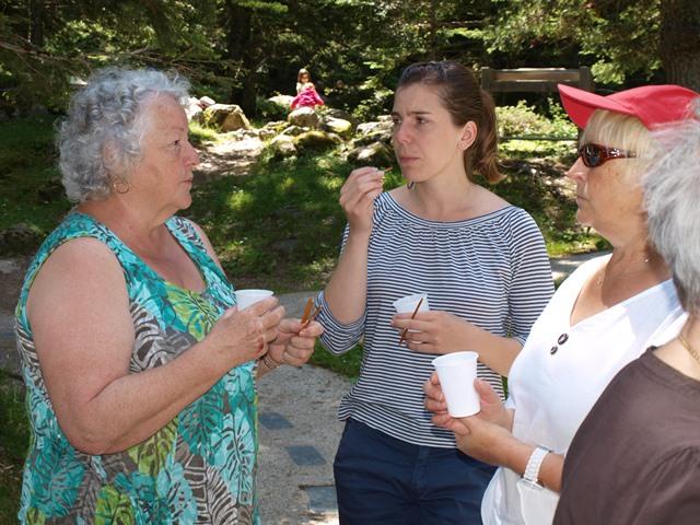 Lucette, Marie et Yolande